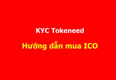 Hướng dẫn tạo tài khoản và cách mua ICO từ website Tokeneed