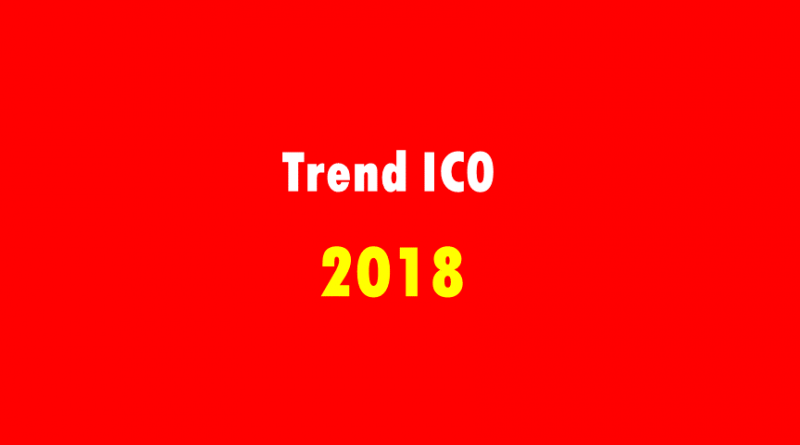 Trend ICO đang HOT trở lại trong nữa cuối 2018 ?