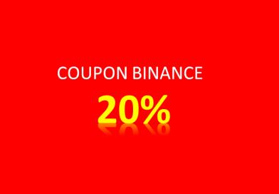 Nhận ngay Coupon giảm 20% phí giao dịch trên Binance